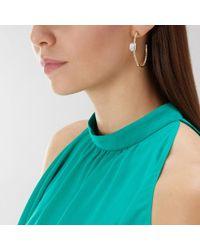 Coast - Cecily Hoop Earrings - Lyst