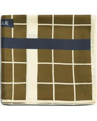 Coccinelle - Square Tiles Multicolor Evergreen Silk - Lyst