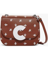 56bd4a8ecf Coccinelle - Craquante Medium Multicolor Brule Tumbled Leather - Lyst