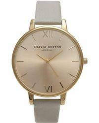Olivia Burton - Big Dial Watch - Lyst