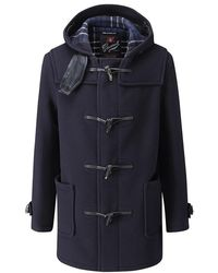 Gloverall - Style 3251c Mid Length Duffle Coat - Lyst