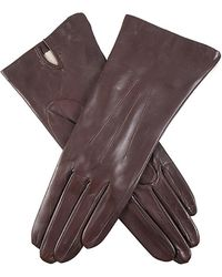 Dents - Felicity Silk Lined Hairsheep Leather Gloves - Lyst