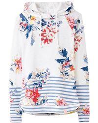 Joules - Marlston Print Semi-fitted Printed Sweatshirt - Lyst