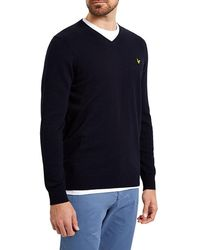 Lyle & Scott - V-neck Jumper - Lyst