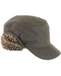 Barbour - Stanhope Trapper Wax Hat - Lyst