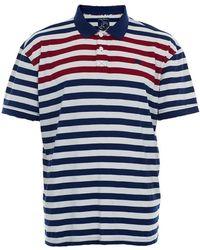 Raging Bull - Striped Polo Shirt - Lyst