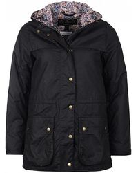 55539e2cab Barbour - Blaise Liberty Print Wax Jacket With Liberty Print - Lyst