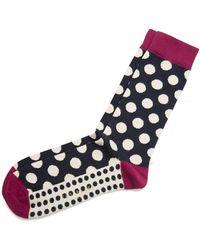 Ted Baker - Edge Dot Socks - Lyst