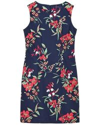 GANT - Floral Shift Dress - Lyst