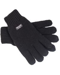 Dents - Thinsulate Knitted Gloves - Lyst