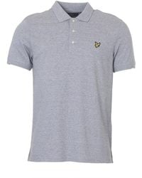 Lyle & Scott - Mouline Polo Shirt - Lyst
