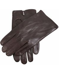 Dents Fleece Lined Leather Gloves