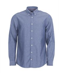 Tommy Hilfiger - Long Sleeve Chambray Shirt - Lyst