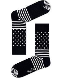 Happy Socks - Cotton Blend Stripe Dot Socks - Lyst