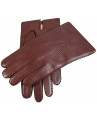 Dents - Leather Gloves With Cashmere Lining - Lyst