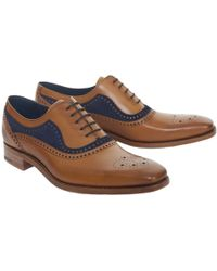 Barker Brandon Brogue - Blue