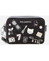 Karl Lagerfeld - Women's K/klassik Pins Camera Bag - Lyst