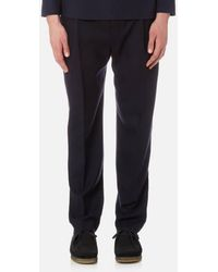 Lemaire - Men's One Pleated Trousers - Lyst