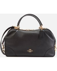 COACH - Leather Aidy Satchel - Lyst