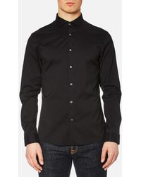 Michael Kors - Men's Slim Cotton/nylon Stretch Shirt - Lyst