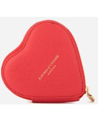 Aspinal - Women's Heart Coin Purse - Lyst