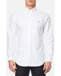 Polo Ralph Lauren - Men's Long Sleeved Shirt - Lyst