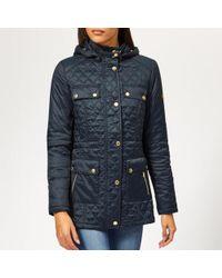 Barbour - Women's Penhal Quilted Coat - Lyst