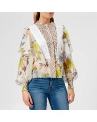See By Chloé Floral Patchwork Blouse
