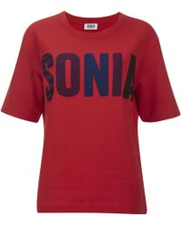Sonia by Sonia Rykiel - Women's Light Fleece Sonia Sweatshirt - Lyst