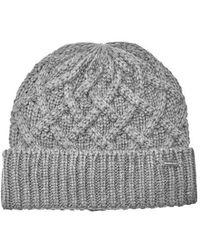 ec02a75e770 Michael Kors - Men s Cable Knit Hat - Lyst