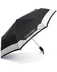 Calvin Klein - Women's Medium Foldable Umbrella - Lyst