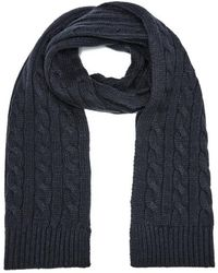 SELECTED - Men's Croft Scarf - Lyst