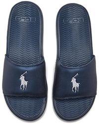 Polo Ralph Lauren   Men's Rodwell Slide Sandals   Lyst