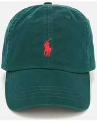 8e1aa81cbe464 Polo Ralph Lauren Men s Classic Sport Cap in Blue for Men - Lyst