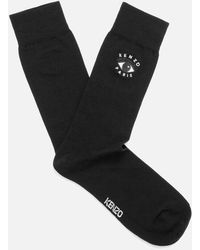 KENZO - Men's Eye Embroidered Socks - Lyst