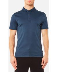 Michael Kors | Sleek Mk Polo Shirt | Lyst
