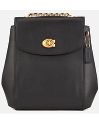 COACH - Women's Refined Calf Leather Parker Backpack - Lyst