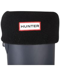 HUNTER - Women's Short Fleece Welly Socks - Lyst