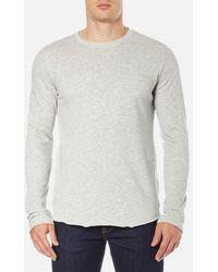 Edwin - Men's Terry Long Sleeve Tshirt - Lyst