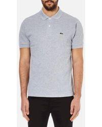 Lacoste - Short Sleeve Polo Shirt - Lyst