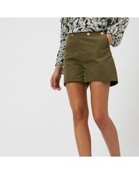 See By Chloé - See By Chloe Women's Smart Shorts - Lyst