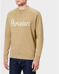 Maison Kitsuné - Men's Parisien Sweatshirt - Lyst