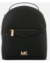 8d09ff33d2a1 MICHAEL Michael Kors - Jessa Small Convertible Backpack - Lyst