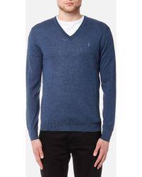 Polo Ralph Lauren Merino Wool Long Sleeve Sweater