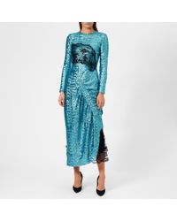 Preen By Thornton Bregazzi - Women's Sequin Jersey Lace Dinah Dress - Lyst