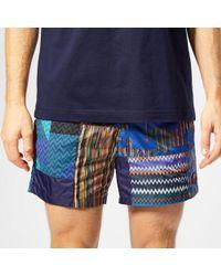 Missoni - Pattern Print Swim Shorts - Lyst