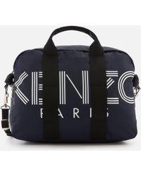 KENZO Sport Logo Weekend Bag