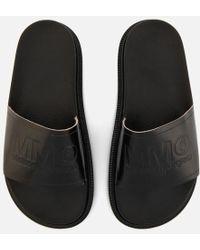 MM6 by Maison Martin Margiela - Women's Slide Sandals - Lyst