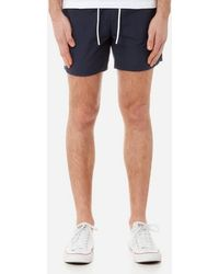 Lacoste | Men's Basic Swim Shorts | Lyst