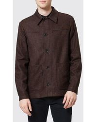 PS by Paul Smith - Men's Checked Work Jacket - Lyst